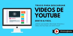 como descargar videos de youtube