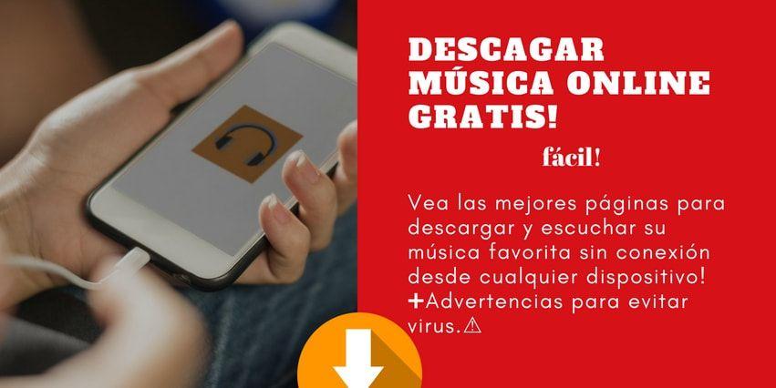 como descargar música online gratis