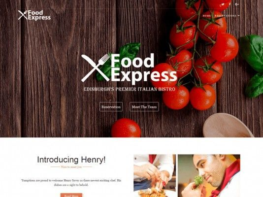 Food-express-theme-gratis-responsive