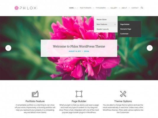 PHLOX-theme-wordpress-gratuito