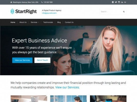 StartRight-wordpress-free