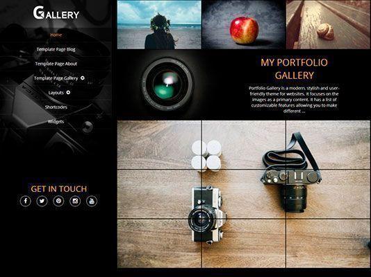 Tema-wordpress-gratis-portfolio-responsive-Gallery