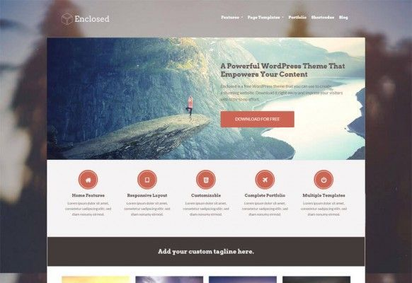 enclosed-plantillas-web-gratis-wordpress
