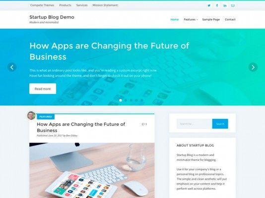 startup-blog-theme