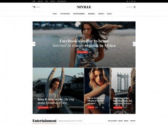 temas-web-gratuitos-neville