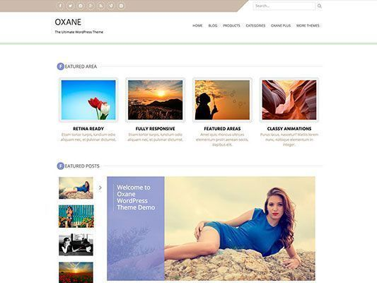 themes-responsives-gratiss-Wordpress-Oxane
