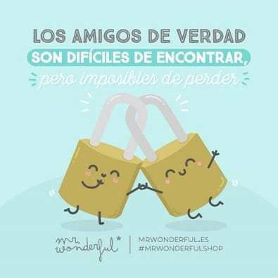 mr wonderful frases amistad