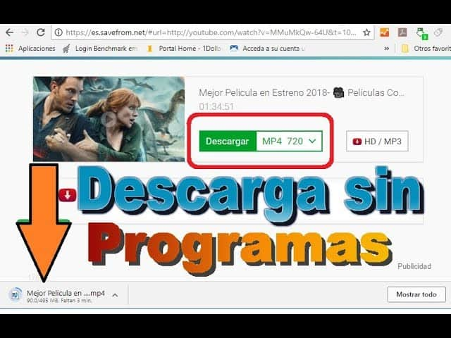 descargar videos de youtube desde android 2019