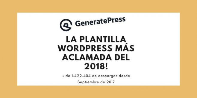 GeneratePress opiniones