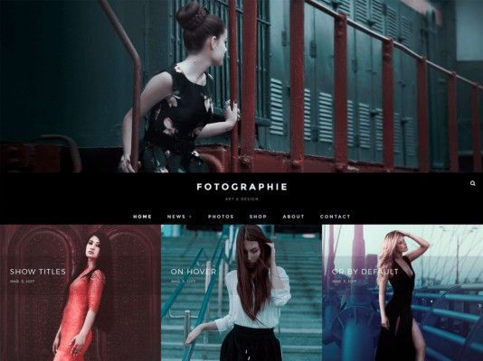 fotografie wordpress gratis