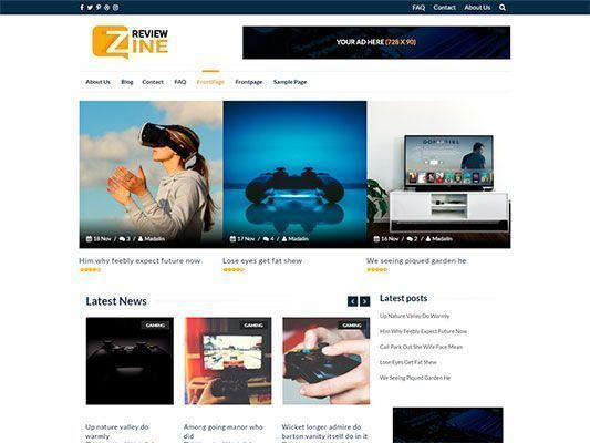 themes-wordpress-gratis-responsive-review-zine